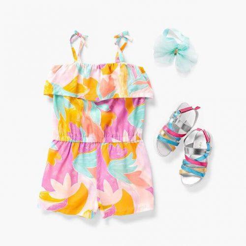 مدل لباس نوزادی دخترانه تابستان