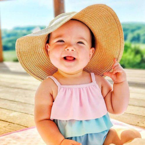 مدل لباس نوزادی دخترانه تابستانی