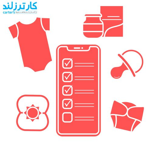 لیست لباس های نوزادی ضروری برای سیسمونی