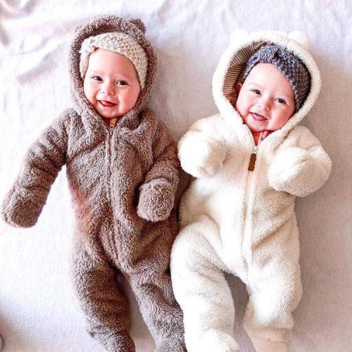 لباس نوزادی دخترانه یک ماهه