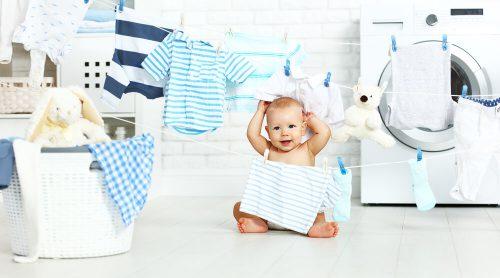 شستن لباس نوزاد قبل از استفاده