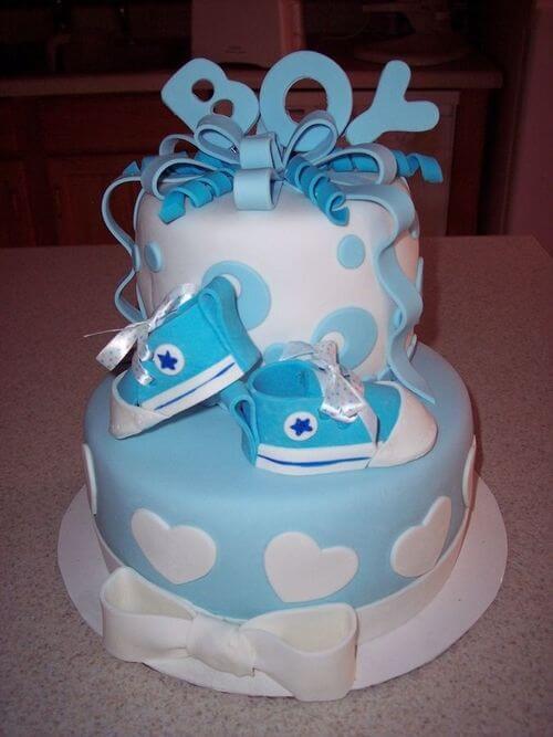 کیک جشن سیسمونی پسرانه