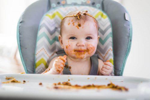 صبحانه نوزاد ده تا دوازده ماهگی