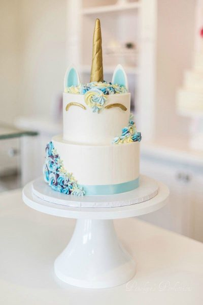 کیک جشن بیبی شاور دخترانه
