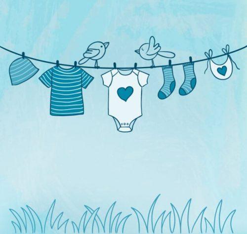 شستن لباس نوزادی